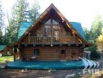 Chilliwack BC Log Home - close to Golf and Mountains